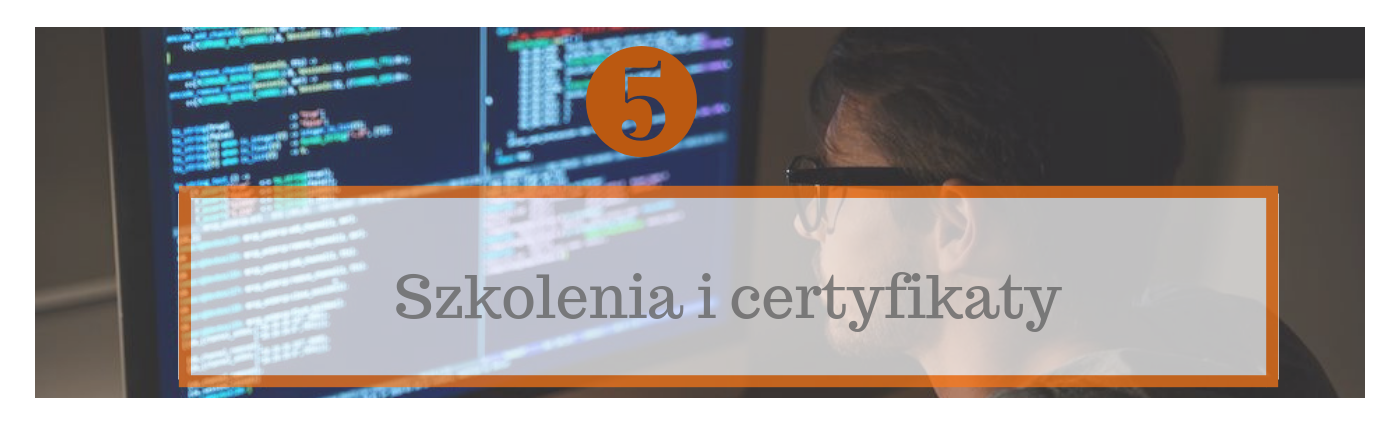 Szkolenia i certyfikaty