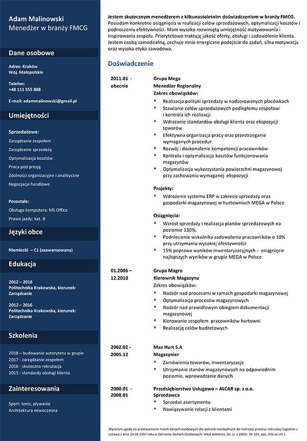 Wzory Cv Przykładowe Dokumenty Aplikacyjne Experci Kariery