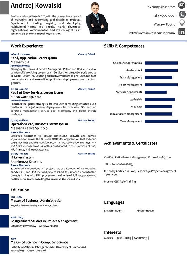 wzory cv  przyk u0142adowe dokumenty aplikacyjne